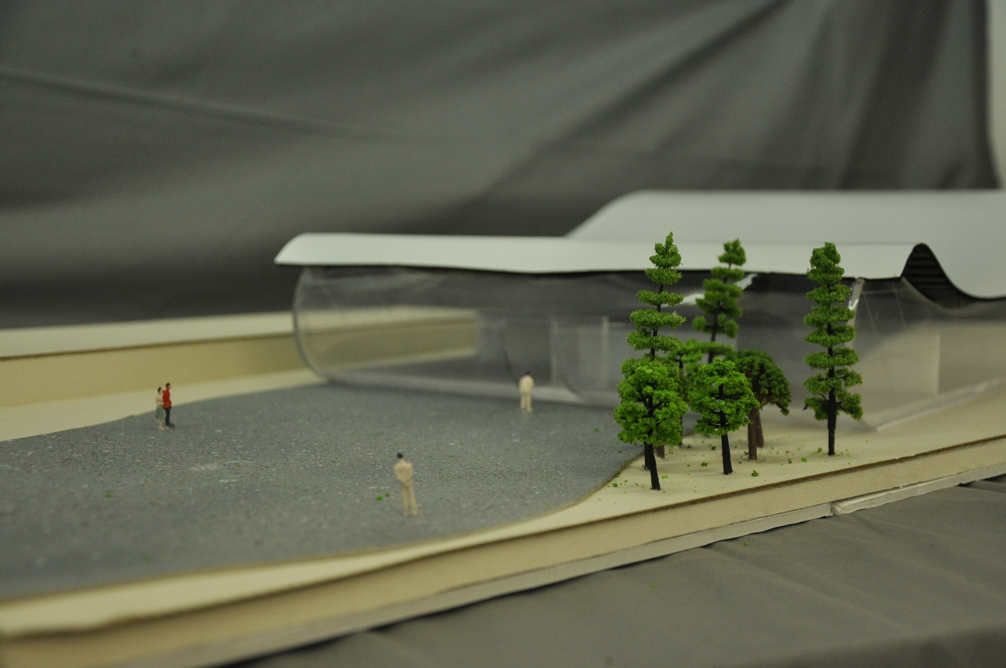 תכנון מרכז ספורט ימי, הנדסאי אדריכלות - מגיש ניר קניג, מרצה לירז גרוס. צילום: מאיה לוי - שנקר הנדסאים