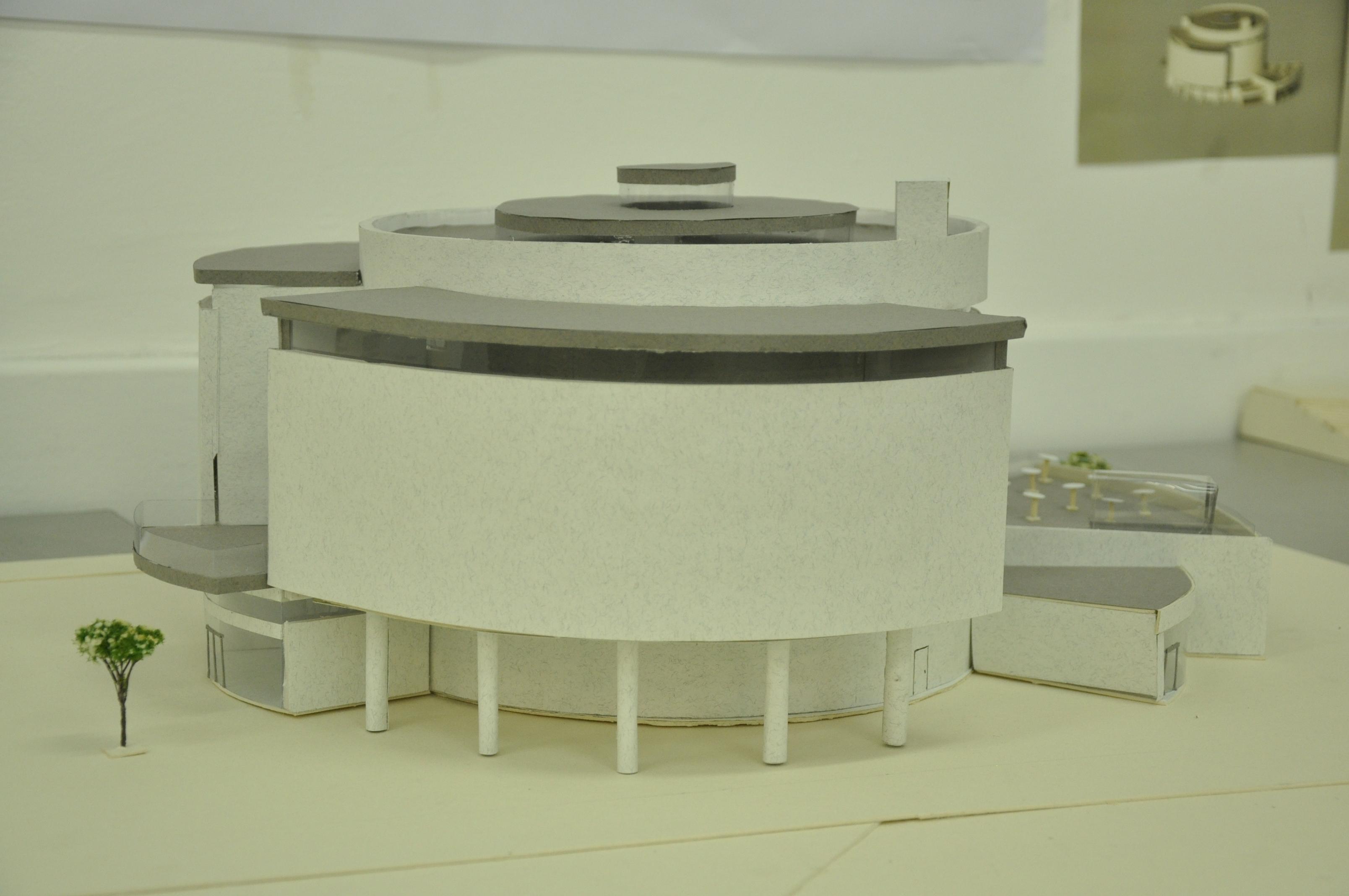 תכנון מרכז ספורט ימי, הנדסאי אדריכלות. מגיש עביר קעדאן, מנחה לירז גרוס. צילום: מאיה לוי - שנקר הנדסאים
