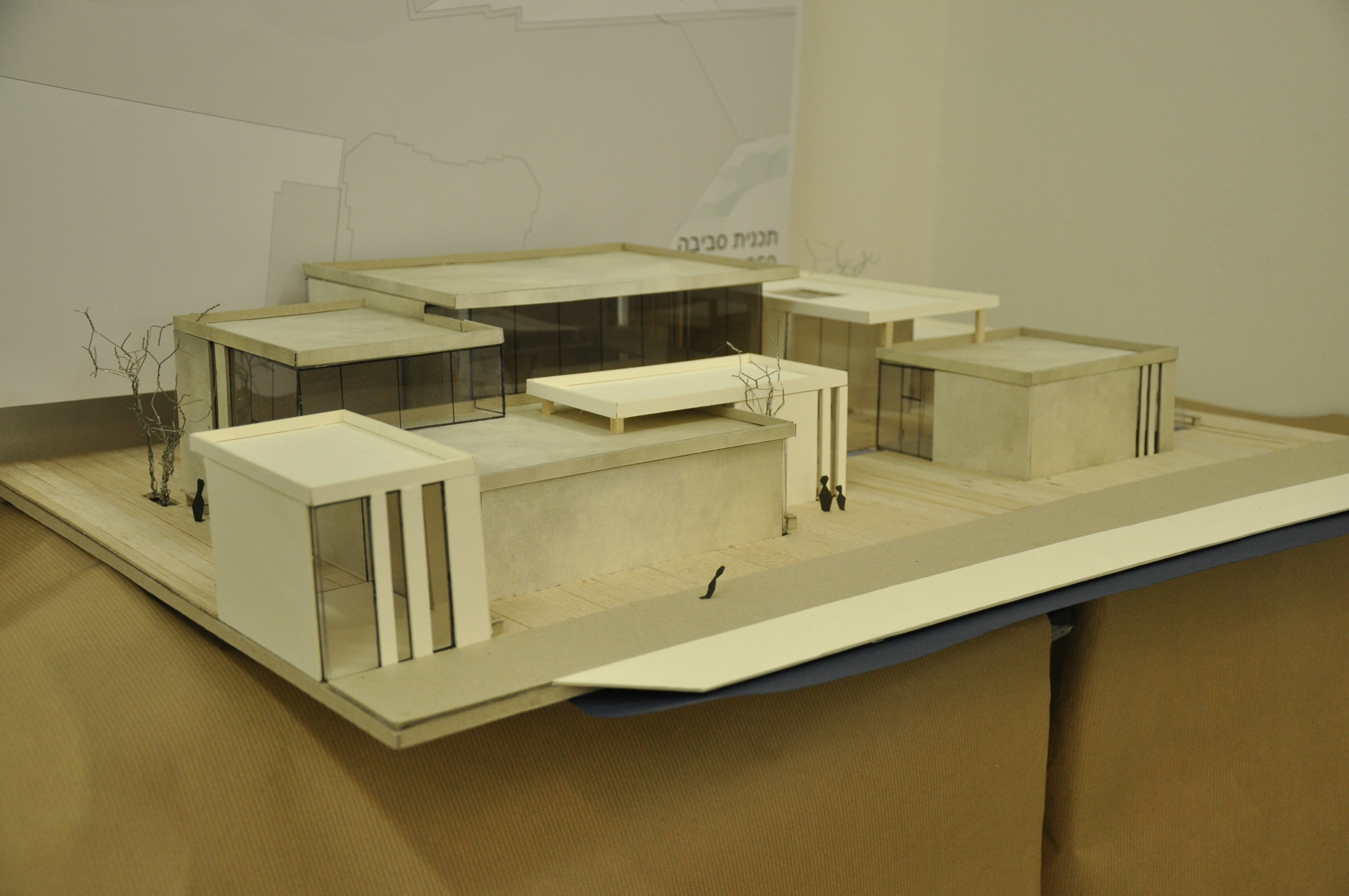 תכנון מרכז ספורט ימי, הנדסאי אדריכלות. שיר פילוס, מנחה אדריכלית לירז גרוס. צילום: מאיה לוי - שנקר הנדסאים