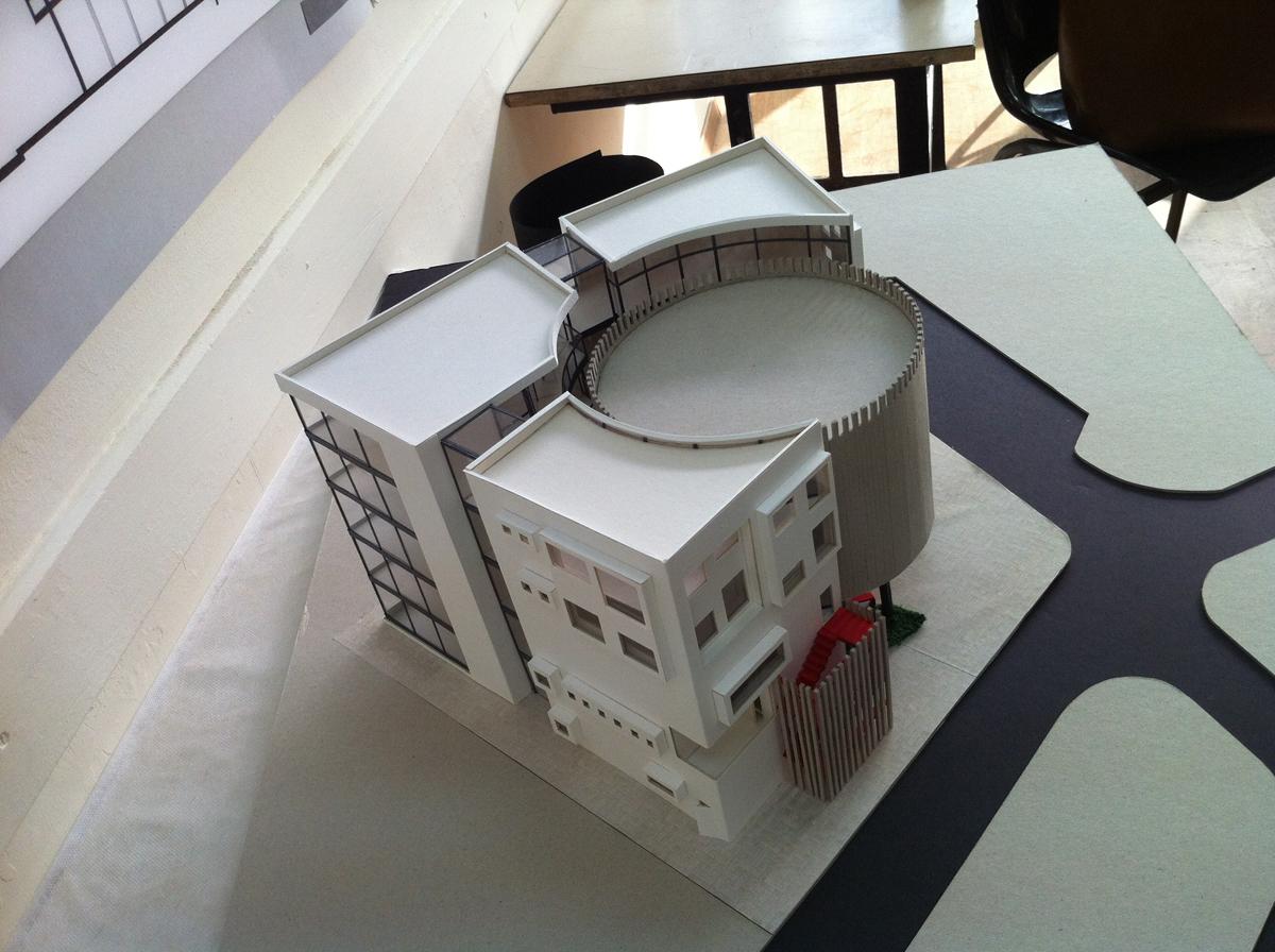 עבודות סטודנטים במסלול אדריכלות ועיצוב פנים