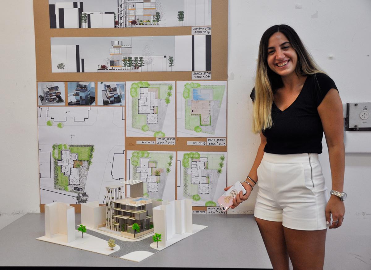 הנדסאי אדריכלות ועיצוב פנים - שנקר הנדסאים. צילום: מאיה לוי
