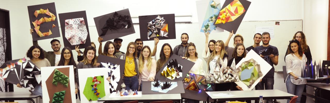 סטודנטים לתואר הנדסאי עיצוב מדיה בשנקר הנדסאים