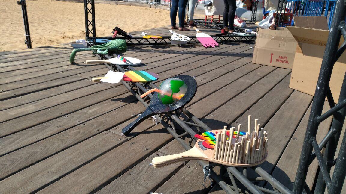 תערוכת ים וצבע בנמל תל אביב - שנקר הנדסאים