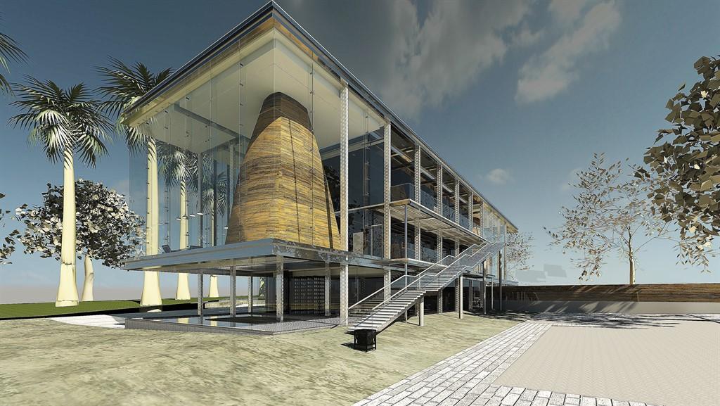 פרויקט גמר אדריכלות ועיצוב פנים - אנג'ליקה סרקיסיאן - שנקר הנדסאים