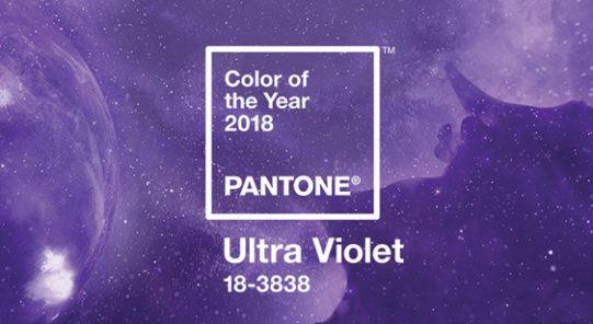 הכרזת צבע השנה אולטרה-סגול באתר פנטון - שנקר הנדסאים