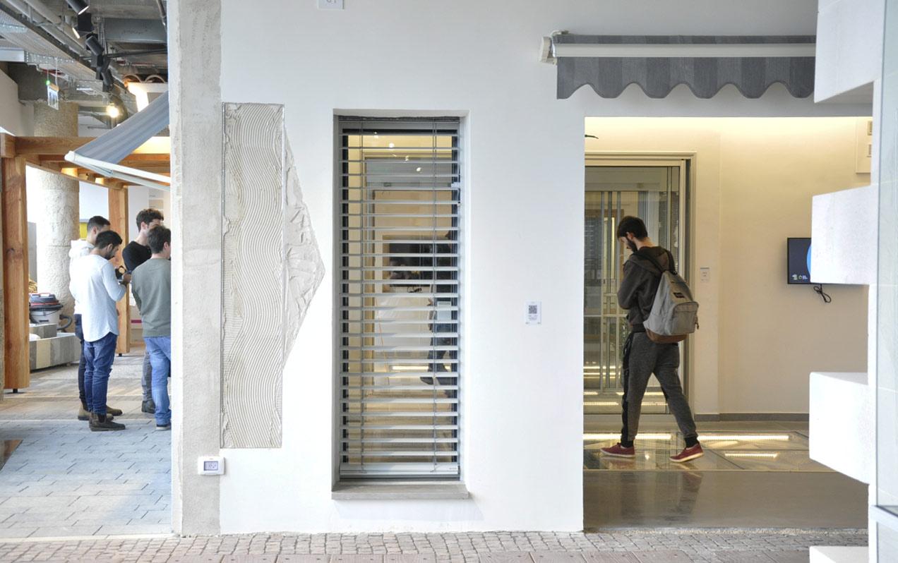 סיור לבית השקוף בנתניה - הנדסת בניין שנקר הנדסאים