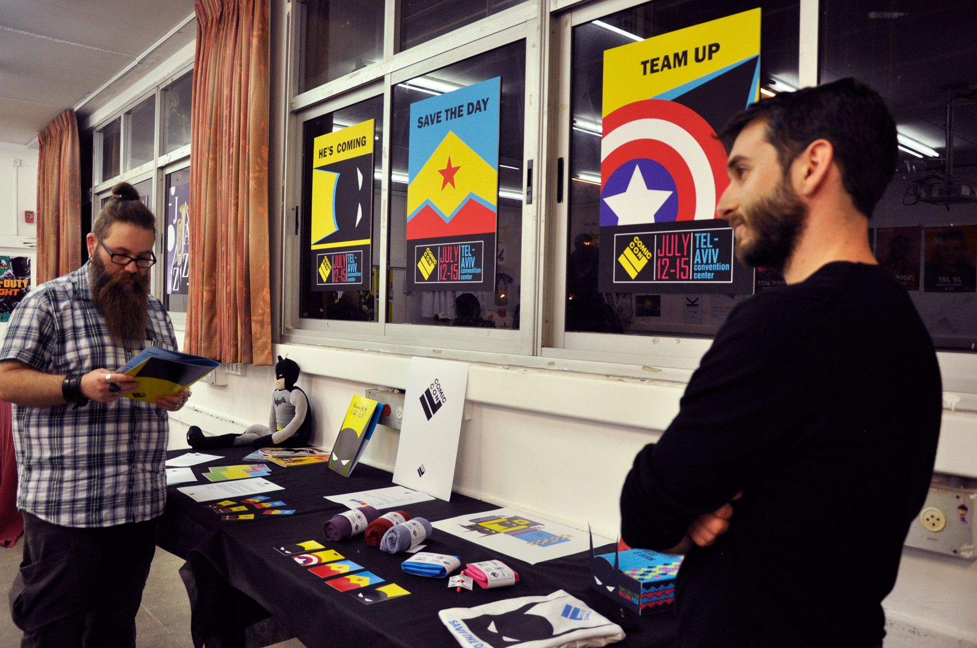 קורס עיצוב גרפי - מכללת שנקר הנדסאים. צילום: מאיה לוי