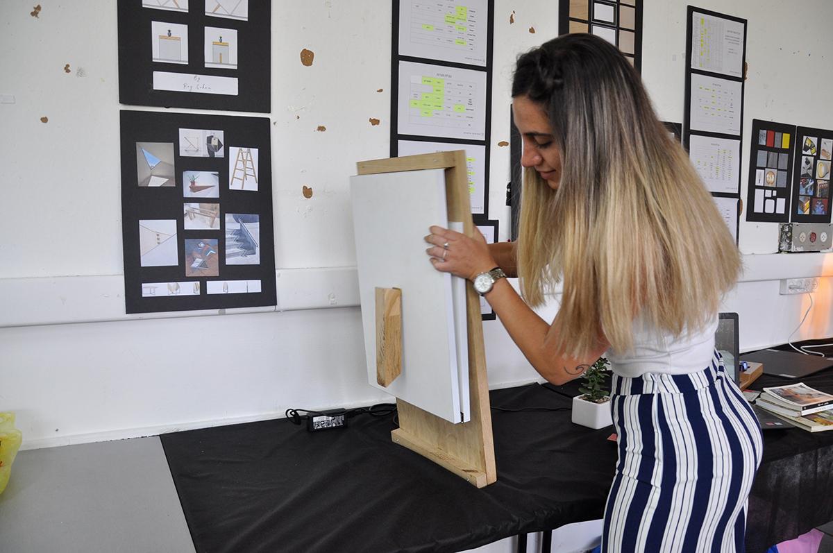 קורס יסודות העיצוב במסגרת לימודי הנדסאי אדריכלות ועיצוב פנים - שנקר הנדסאים