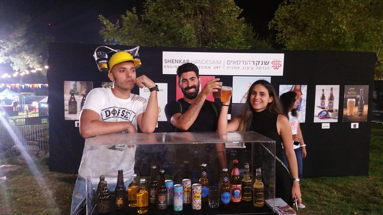 תערוכת סטודנטים לעיצוב בפסטיבל הבירה ירושלים - שנקר הנדסאים. צילום: כפיר ממן