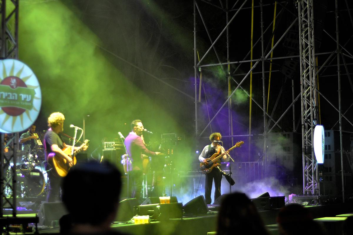 הג'ירפות בפסטיבל הבירה ירושלים - שנקר הנדסאים