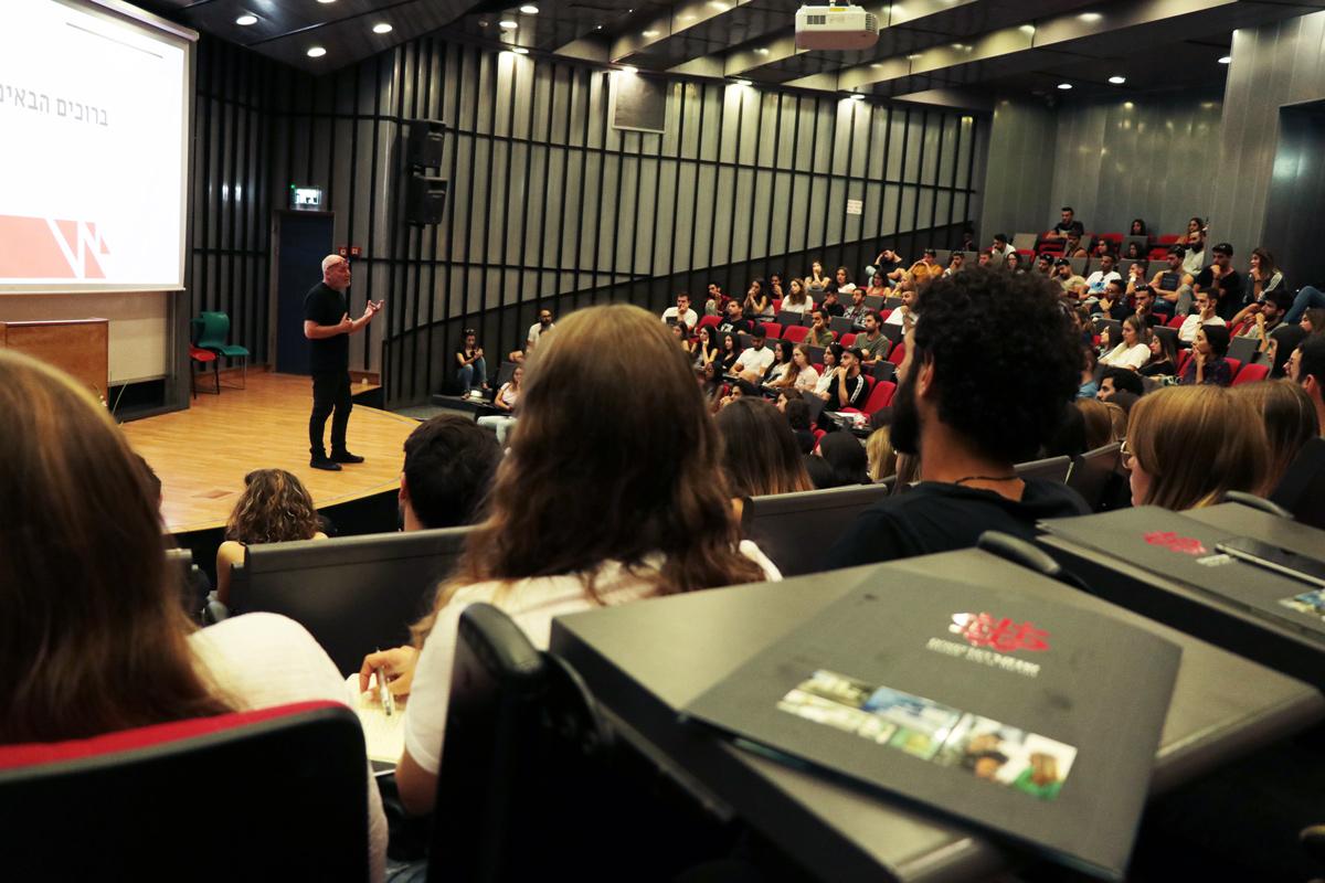 דיקן הסטודנטים מר פיני ליבוביץ' - צילום: מאיה לוי - שנקר הנדסאים