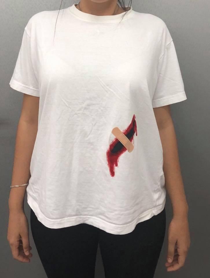 חולצת טי מעוצבת - סטודנטים לעיצוב מדיה של שנקר הנדסאים