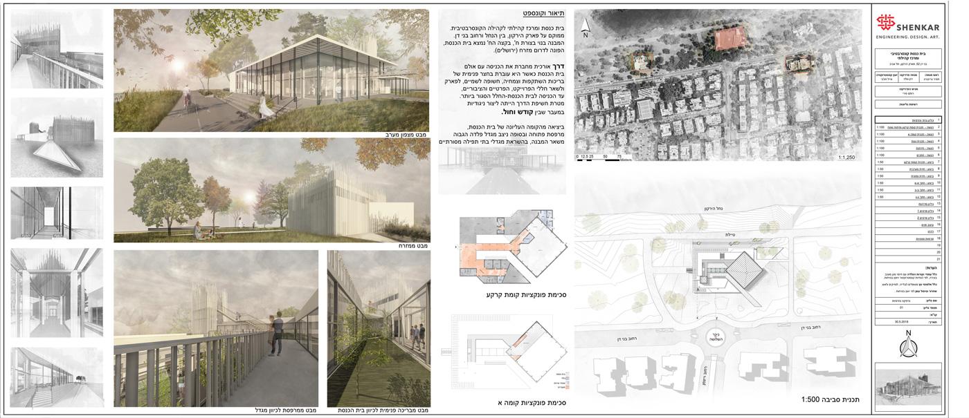 פרויקט הגמר של רותם סירי - אדריכלות שנקר הנדסאים