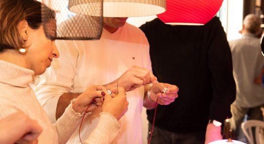 סדנת תאורה בזגורי תאורה תל אביב - עיצוב פנים שנקר הנדסאים